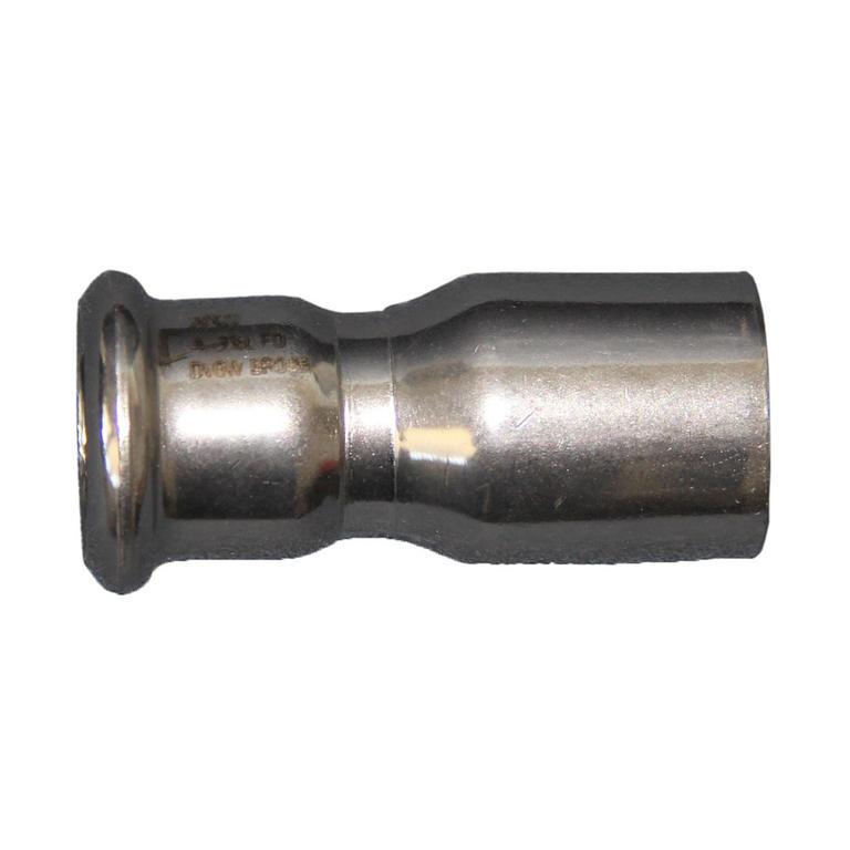 Embase rectangulaire 22mm 45° Inox 316